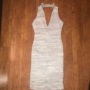 Dresses & Skirts - Mock Choker Ribbed Dress